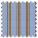 Pinpoint, Blue and Brown Stripes
