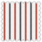 Twill, Blue and Red Stripes