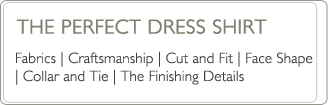 perfect dress shirt