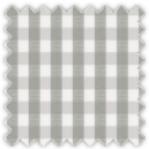 Poplin, Gray Checks