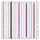Dobby, Blue, Pink and Purple Stripes