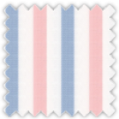Twill, Blue and Pink Stripes