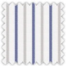 Twill, Blue and Gray Stripes