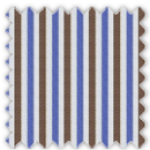 Twill, Blue and Brown Stripes