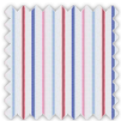 Poplin, Pink and Red Stripes