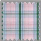 Poplin, Green, Pink and Gray Checks