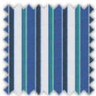 Poplin, Blue and Green Stripes