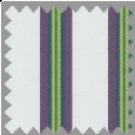 Poplin, Green and Purple Stripes