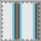 Poplin, Blue and Brown Stripes