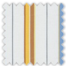Poplin, Blue, Yellow and Brown Stripes