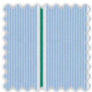 Poplin, Blue and Green Stripes