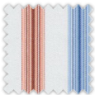 Twill, Blue and Orange Stripes