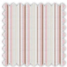 Poplin, Pink and Brown Stripes