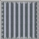 Poplin, Gray and Purple Stripes