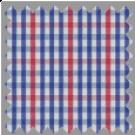 Poplin, Blue and Red Checks