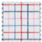 Linen, Blue, Pink and Red Checks