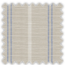 Linen, Blue and Gray Stripes