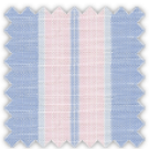 Linen, Blue and Pink Stripes