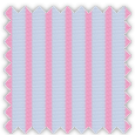 Dobby, Pink and Gray Stripes