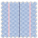 Oxford, Blue and Pink Stripes