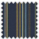 Dobby, Blue, Yellow, Purple and Orange Stripes