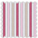 Pinpoint, Pink, Red and Khaki Stripes