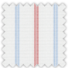 Oxford, Blue and Red Stripes