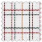 Oxford, Black, Red and Orange Checks