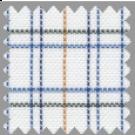 Oxford, Blue, Black and Orange Checks