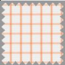 Twill, Orange Checks