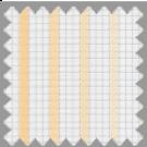 Wrinkle Resistant Dobby, Gray and Orange Stripes