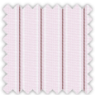 Wrinkle Resistant Dobby, Pink and Red Stripes