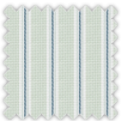 Wrinkle Resistant Dobby, Blue and Green Stripes