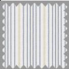 Wrinkle Resistant Dobby, Blue and Khaki Stripes