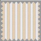 Wrinkle Resistant Dobby, Brown and Khaki Stripes