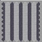 Wrinkle Resistant Dobby, Gray Stripes