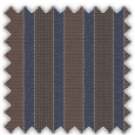 Wrinkle Resistant Dobby, Blue and Brown Stripes