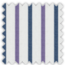 Twill, Blue and Purple Stripes