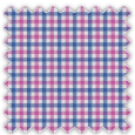 Poplin, Blue and Purple Checks