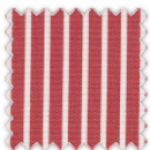 Poplin, Red Stripes