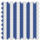 Herringbone, Blue Stripes