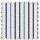 Twill, Blue, Gray and Brown Stripes