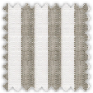 Linen, Brown Stripes