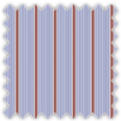 Poplin, Blue and Red Stripes