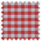 Poplin, Red Checks