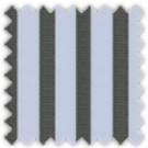 Poplin, Blue and Black Stripes