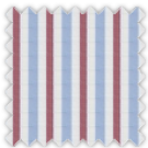 Poplin, Blue and Purple Stripes