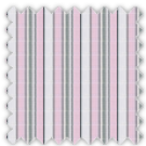 Poplin, Pink and Gray Stripes