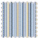 Poplin, Blue and Yellow Stripes