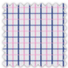 Twill, Blue and Pink Checks